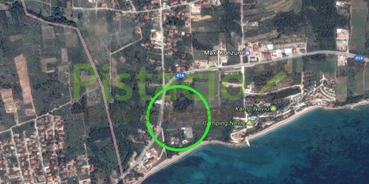 Building plot 6011 sqm for sale, peninsula Pelješac, Orebić, Stanković