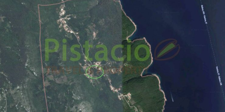 Building land for sale Labin Drenje Istria 75 € / sqm