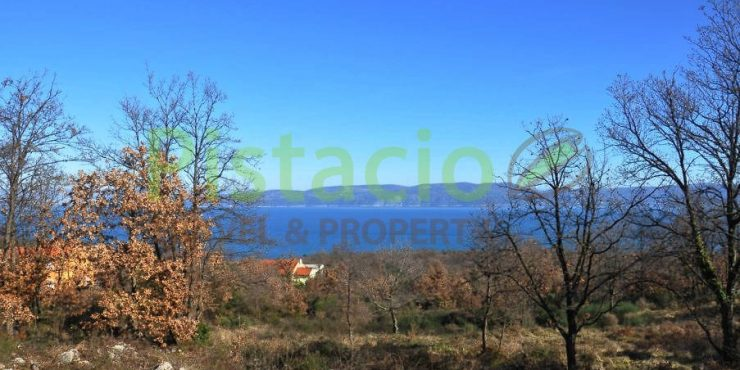Building land for sale Labin with a building permit 1.194 sq.m.