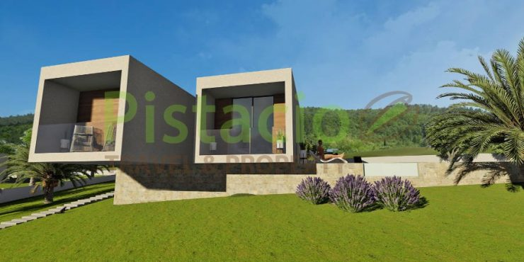 Building land for sale Labin Drenje Istria 1000 sqm