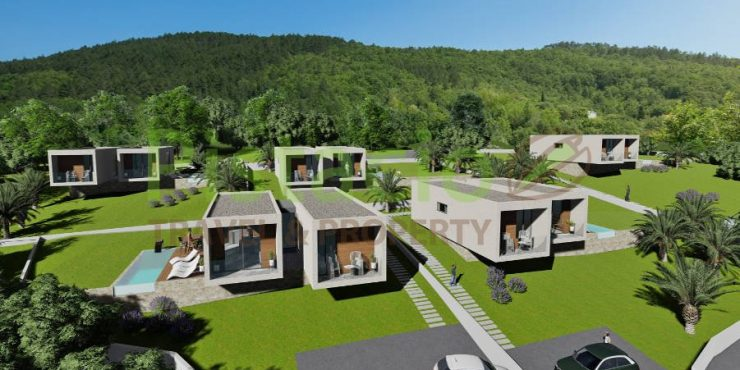 Building land for sale Labin Drenje Istria 3670 sqm